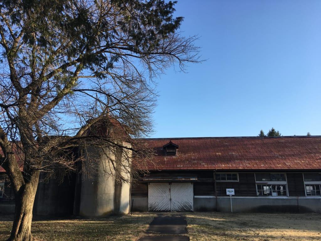 木造の家畜改良センター